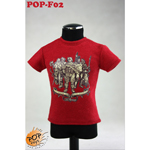 Fashionable Male T-shirt Type A (Red)