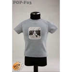 Fashionable Male T-shirt Type B (Grey)