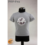 Fashionable Male T-shirt Type C (Grey)