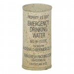 Worn Emergency Drinking Water (Khaki)