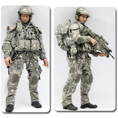 US ARMY FCS ACU version VERYHOT - Machinegun