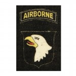 Screaming Eagle 101st Patch (White)