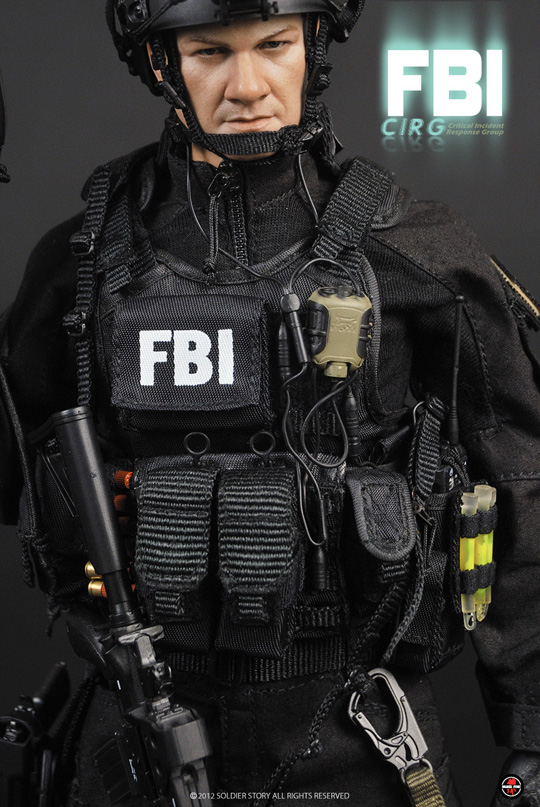 FBI CIRG Critical Incident Response Group SOLDIER STORY ... Fbi Combat Uniform