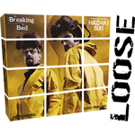 LOOSE BREAKING BAD - HEISENBERG & JESSE HAZMAT SUIT (ThreeZero)