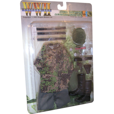 german elite officer camo smock set 5