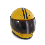 Biker Helmet (Yellow)