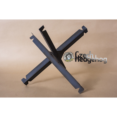 Czech Hedgehog Anti Tank Obstacle (Black)