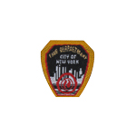 Patch Fire Department City Of New York (Black)