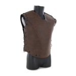 Leather vest (Brown)