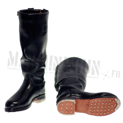 Officer black boots