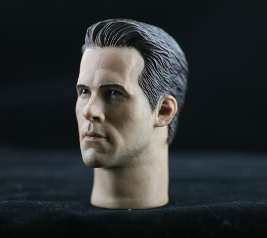 Headsculpt Ryan Reynolds HEADPLAY - Machinegun Ryan Reynolds Number