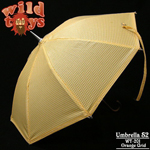 Yellow grid umbrella