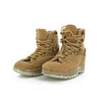 Coyote brown combat boots