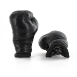 Vintage British boxing gloves