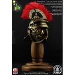 Museum Collection - Centurion Roman Imperial Gallic Model H Die Cast Helm (Bronzed Version)