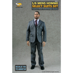 Mens Homme Select Suits Set (Grey)