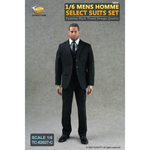 Mens Homme Select Suits Set (Black)