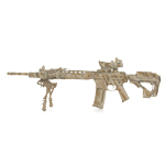 LaRue Tactical OBR 5.56 rifle with 18 inch Barrel