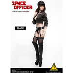 Space Officer Female Clothing Set (Black)