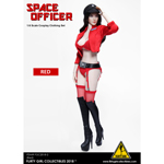 Space Officer Female Clothing Set (Red)