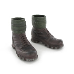 Bergschuhe Mountain Boots with puttees