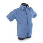 Prisoner blue shirt