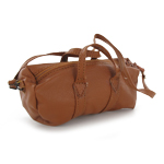 Leather Dufflebag (Brown)