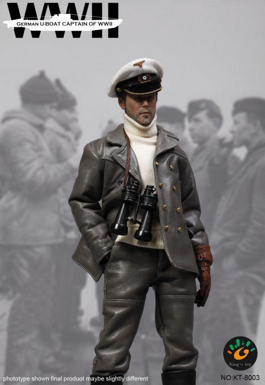 German U-Boat Captain KINGS TOYS - Machinegun
