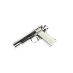 Silver color plated Colt 45