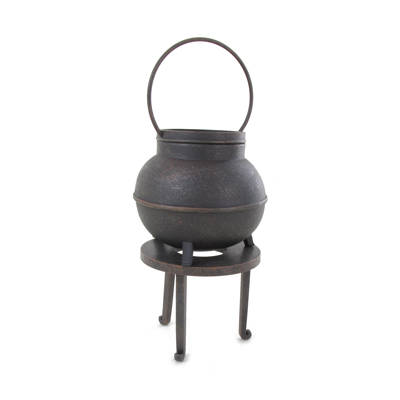Cauldron with Stand (Grey)