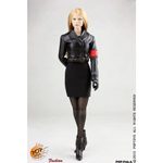 German Woman Officer's Leather Uniform (Black)