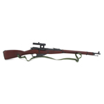 Die Cast Mosin-Nagant 1891/30 Rifle (Brown)