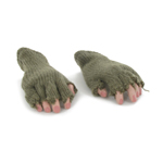 Hands with Mittens (Khaki)