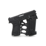Glock Pistol with Removable Grip (Black)