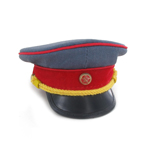 Joseph Jughashvili Stalin Side Cap (Blue)