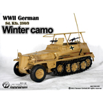 Sd.Kfz.250-3 winter camo