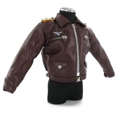 Luftwaffe leather flight jacket MULTIWAYS - Machinegun