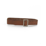 Luftwaffe Leather Belt (Brown)