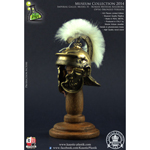 Museum Collection - Optio Imperial Gallic Model H Die Cast Helm (Bronzed Version)