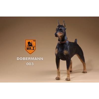 German Doberman Dog (Black)