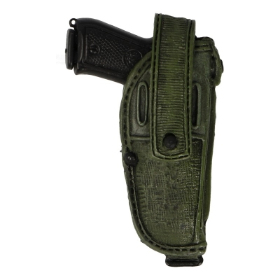 Diecast M9 Beretta Pistol with Holster (Olive Drab)
