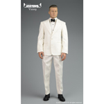 Retro Gentleman Suit Set (White)