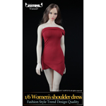Women's Shoulder Dress Set (Red)