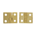Die Cast Brass Hinges with Screws