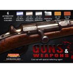 Guns and Weapons Paint Set
