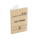 US Army FM31-36 Jungle Operations Field Manual (Beige)