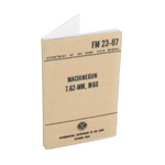 Machine Gun 23-67 7,62mm M60 Field Manual (Beige)