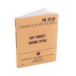 US Army FM23-20 Davy Crockett Weapons System Field Manual (Beige)