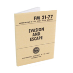 US Army FM21-77 Evasion and Escape Field Manual (Beige)