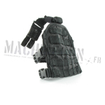 Tactical Drop Leg MOLLE Panel (Black)